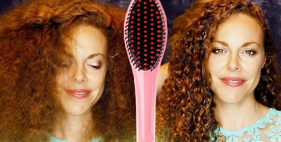 brush hair without losing curls